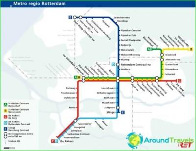 Метро Роттердама: схема, описание, фото. Карта метро Роттердама