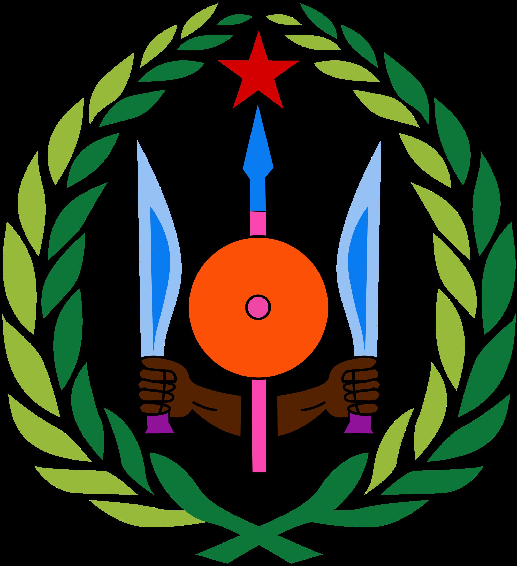 ジブチの国章:写真、意味、説明