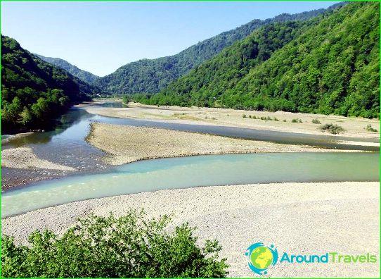 Реки на Азербайджан