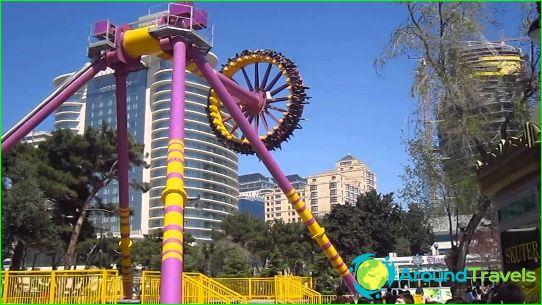 Attracties in Baku