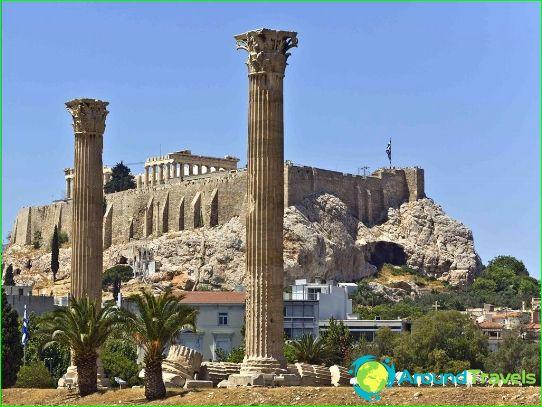 Атински наблюдателни площадки