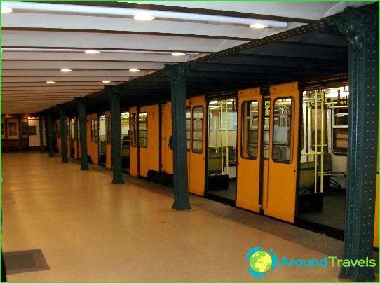 Metro Budapest: kaart, foto, beschrijving