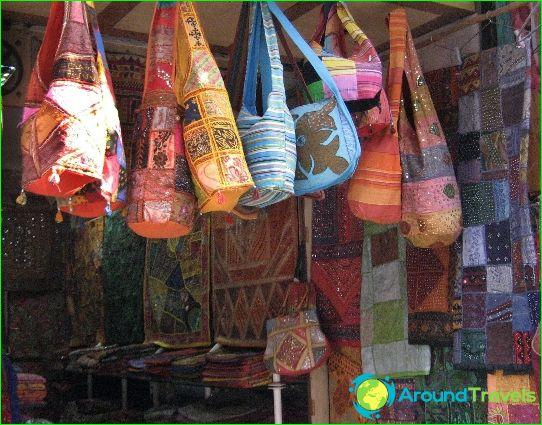 Winkelen in Delhi