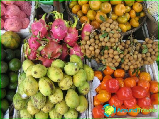 Fruits à Pattaya