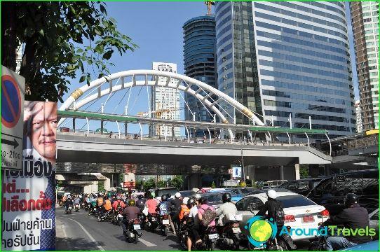Métro de Bangkok: plan, photo, description