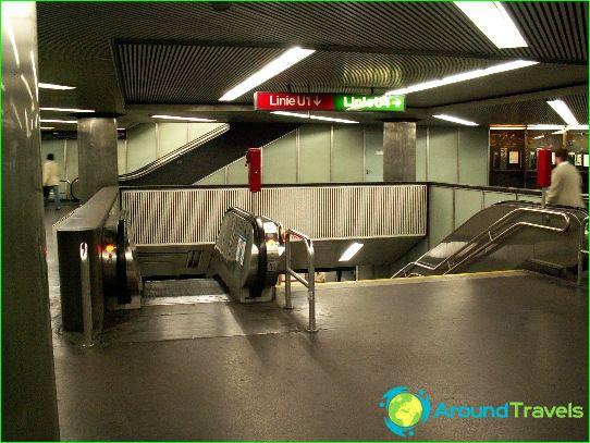 Metro Wenen: kaart, foto, beschrijving