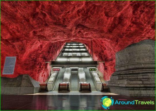 Metro Stockholm: kaart, foto, beschrijving