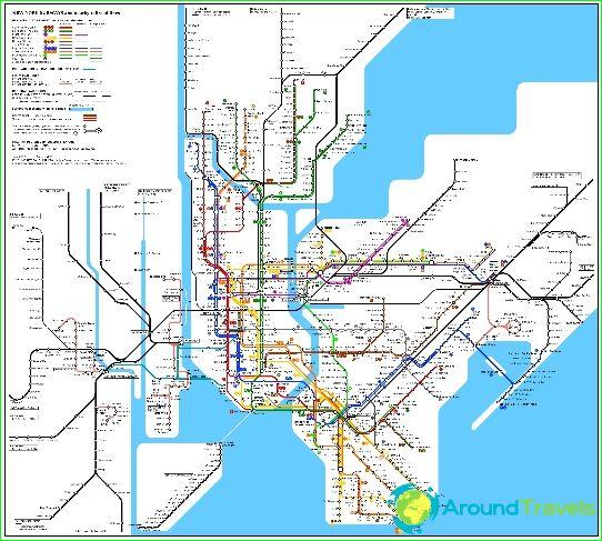 خريطة مترو نيويورك