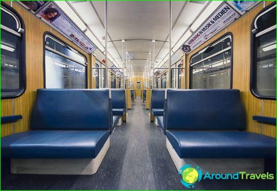 Metro München: kaart, foto, beschrijving