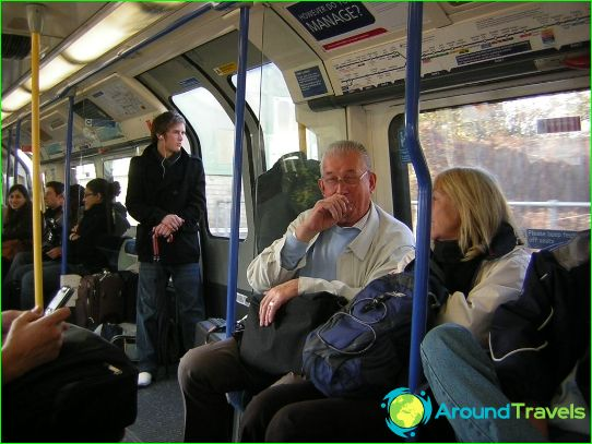 Лондонското метро: карта, снимка, описание
