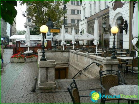 Metro Milaan: kaart, foto, beschrijving