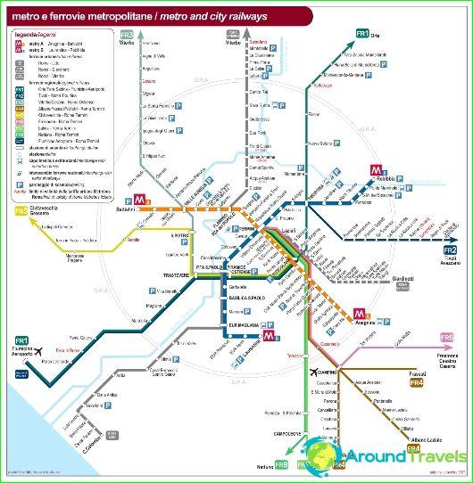 Rom metro karta