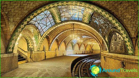 New Yorkin metro: kartta, valokuva, kuvaus