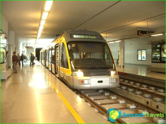 Metro Porto: kaart, foto, beschrijving