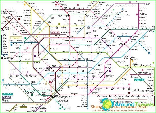 Shanghain metrokartta