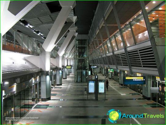 Singapore Metro: kartta, kuva, kuvaus