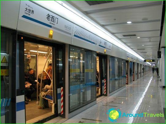 Shanghai Metro: kartta, kuva, kuvaus