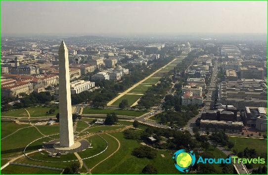 واشنطن هي عاصمة الولايات المتحدة