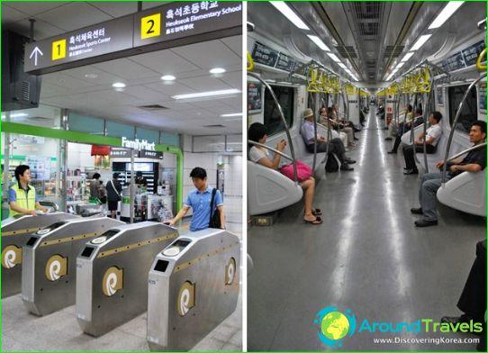 Metro van Seoul: kaart, beschrijving, foto