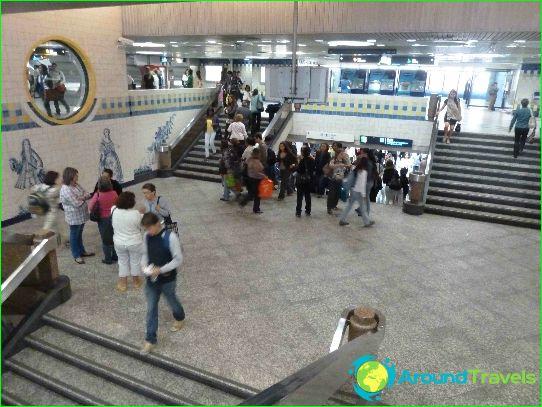 Metro van Lissabon: kaart, beschrijving, foto