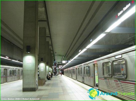 Métro de Los Angeles: plan, description, photo