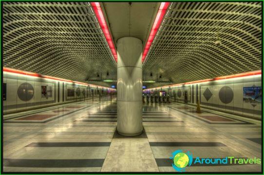 Los Angeles Metro: kartta, kuvaus, valokuva