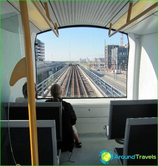 Metro Kopenhagen: kaart, beschrijving, foto