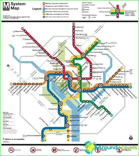 Washington metro karta