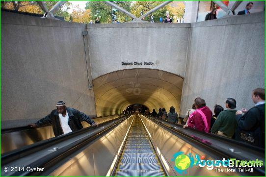 Metro Washington: kaart, beschrijving, foto