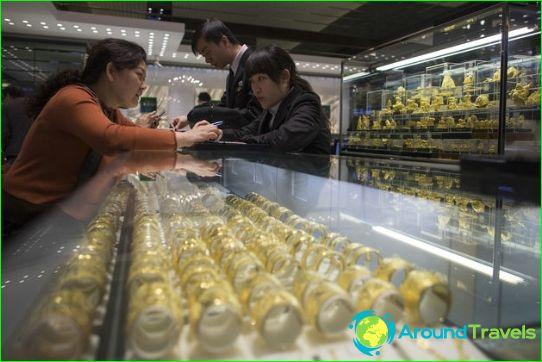 Ostokset Shanghaissa