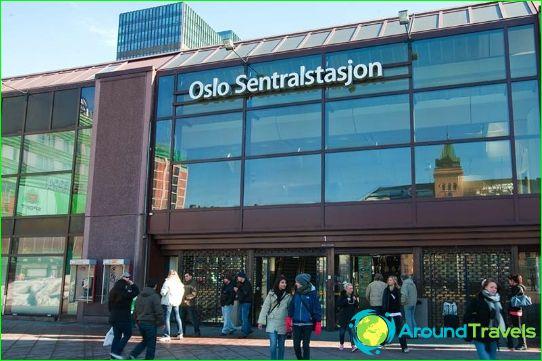 Metro Oslo: kartta, kuvaus, valokuva