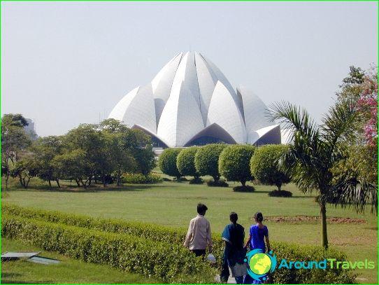 New Delhi - de hoofdstad van India