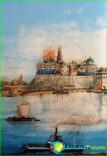 Yaroslavl pijl in de tweede helft van de 19e eeuw