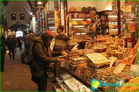 Winkels en markten in Istanbul