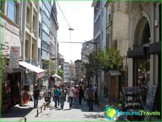 Kaupat ja markkinat Istanbulissa