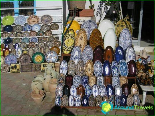 Ostokset Tunisiassa