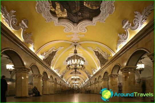 Moskovan metro: kartta, kuvaus, valokuva