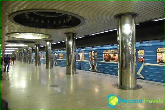 Jekaterinburgin metro: kartta, kuvaus, valokuva
