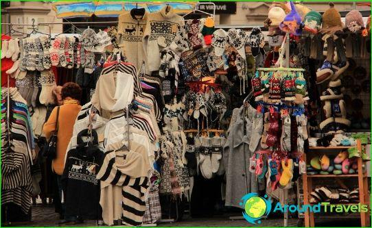 Пазаруване във Вилнюс