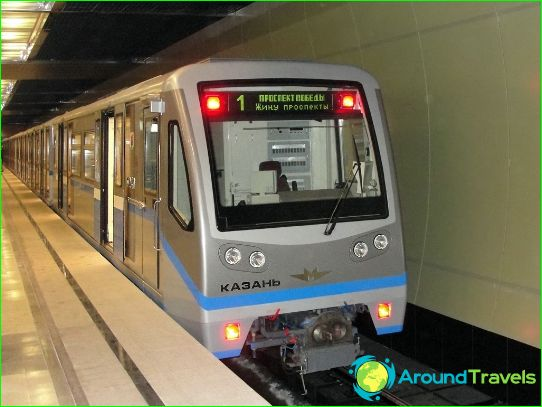 Metro Kazan: kaart, beschrijving, foto