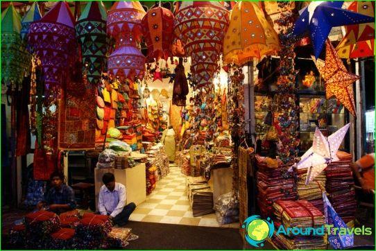 Markten en winkelcentra Delhi