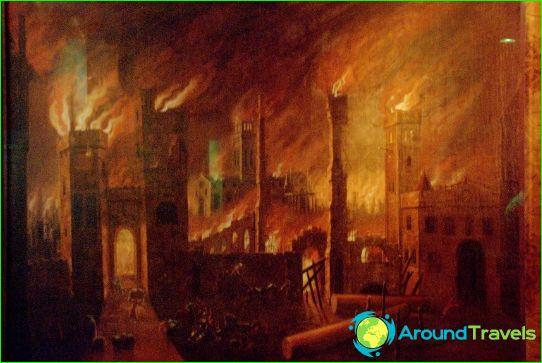 Голям пожар на Лондон 1666г