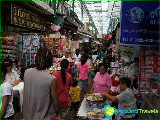 Winkelen in Thailand