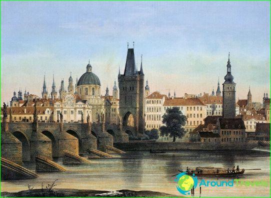 Kaarlen silta vuonna 1840
