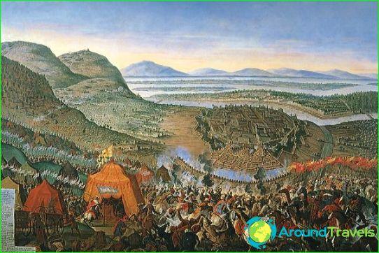 Turkin joukot lähellä Wieniä vuonna 1683