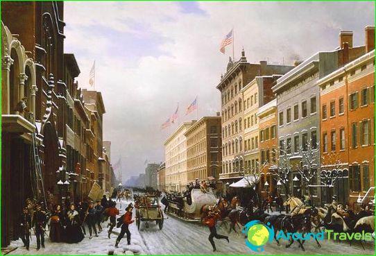 Бродуей през 1840г