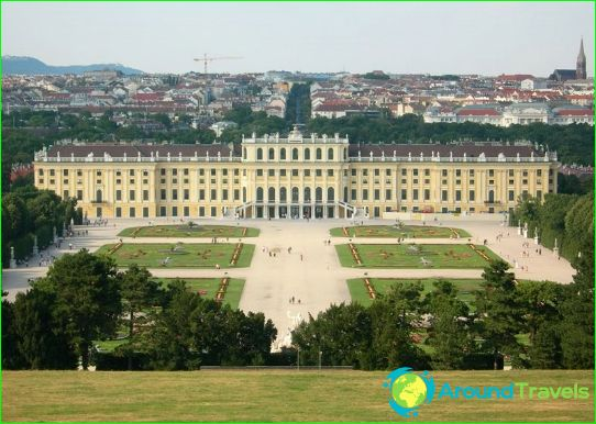 Schonbrunnin palatsi