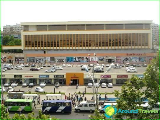 Магазини и търговски центрове на Ташкент
