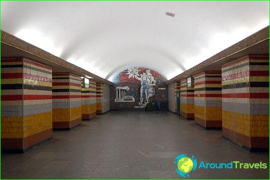 Kiev metro: kaart, beschrijving, foto