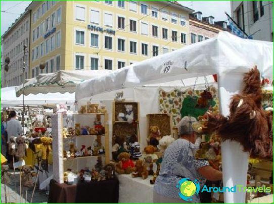 Negozi e centri commerciali di Monaco
